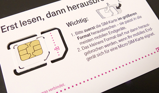 T-MobileドイツでSIMカードを買ってみた!