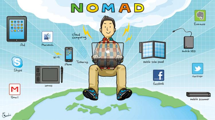 ノマドという生き方【リモートワーク|ワーケーション|デジタルノマド|アドレスホッパー】