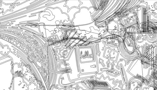 イラレで手描き風のイラストのを描く方法を公開します【Adobe Illustrator|ベジェ|パス|ライブトレース】