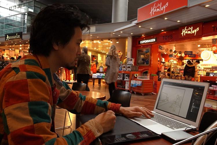 イラストレーターになるには ②  「イラストレーターになりたかったら、デジタルをきわめろ!」【フリーランス|Mac】 イラストレーターになるには フリーランス