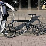 スポーツタイプの折り畳み自転車、  BD-1を買ったよ!