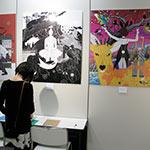 中村佑介さんの個展に行ってきました