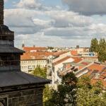 日曜日のベルリンの隠れおススメスポット、  シオン教会の塔にのぼってきたよ