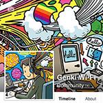 Genki Wi-FiのFacebookページの「いいね!」が  100人を超えました!
