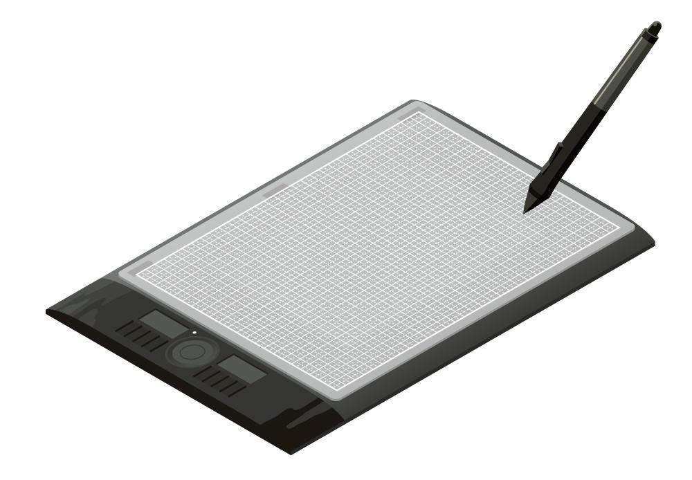 ペンタブレットの表面がツルツルして描きづらい問題をカッターマットで解決する方法【板タブ|Wacom|カッティングマット】 イラストの描きかた