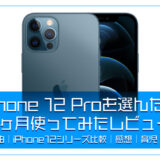僕がiPhone 12 Proを購入した理由と1ヶ月使ってみたレビュー【購入理由|iPhone12シリーズ比較|育児|スマホ】