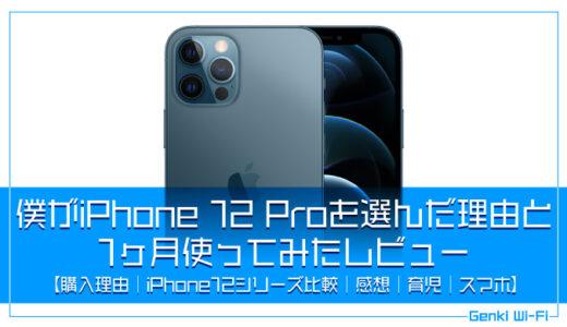 僕がiPhone 12 Proを購入した理由と1ヶ月使ってみたレビュー【購入理由|感想|比較|育児|スマホ】