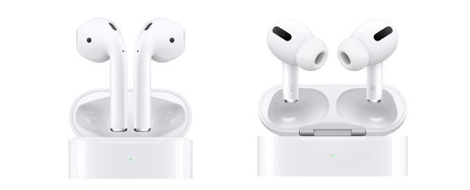 AirPodsとAirPods Proを比較。買うならどっち?【ワイヤレスイヤホン|ノイズキャンセリング|エアポッズプロ|防水|アップルケア+】 Apple